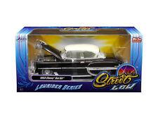 """1953 Chevrolet Bel Air Brown """"Lowrider Series"""" 1:24 Diecast Models - 98916"""