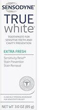 Sensodyne True White Toothpaste EXTRA FRESH 3 oz / 85g