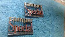 1973 - 1980 Chevy Truck Parts CAMPER SPECIAL Emblems Badges Trim  Vintage OEM