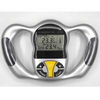 Handheld Body Mass Index BMI Health Fat Analyzer Monitor for Men Women