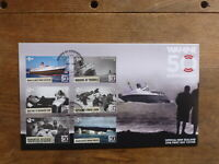 NEW ZEALAND 2018 50th ANNIV WARTIME SET 6 STAMPS FDC FIRST DAY COVER