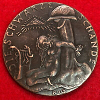 Very large German medal collectible