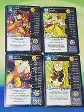 Dragon Ball Z DBZ CCG TCG Panini Custom Proxy Foil Future Gohan Level 1-4 MP Set