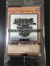 Yugioh World Championship 2017 JPP01 Promo Dark Magician Girl Ghost Rare F/S