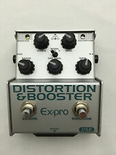 Ex-pro D&B DISTORTION&BOOSTER Japanese Effects Pedal Stompbox