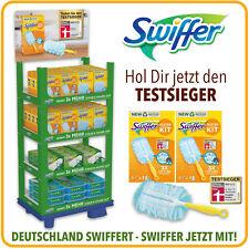 Swiffer Staubmagnet Bodentücher Starter Nachfüller Tücher Griff Bodenwischer Set