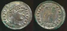 CONSTANTINE I, Silvered AE-3, AD 306-337 (19mm, 3.04 gm) Cyzicus mint, RIC 34