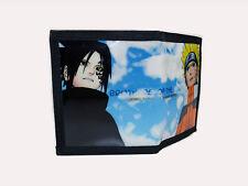 Naruto Uzumaki Naruto & Uchiha Sasuke PU leather wallet (NAO-B2B)