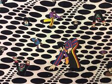 RPD576 The Beatles RARE Psychedelic Dot Yellow Submarine Quilting Cotton Fabric