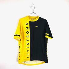 VTG Nike Lance Armstrong Livestrong Cycling Jersey Road/Bike Shirt Sz XL Italy