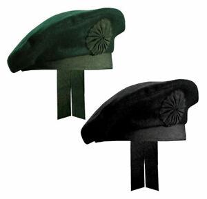 Irish Caubeen Wool Hats & Caps Berets Balmorals Military Army Headgears Headwear