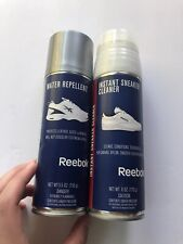 NEW Reebok Sneaker Cleaner And Water Repellant NEW SET Instant Athletic Shoe