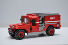 LEGO City Fire Truck Hummer SUV Rescue Red Speed Champions Custom