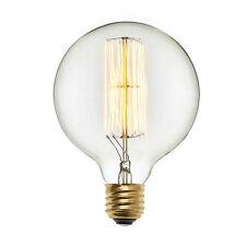 Edison Tungsten Filament bulb. E27 holder type (thread style) Balloon shape