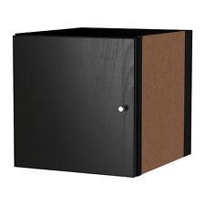 Ikea Kallax Insert with door - Black/Brown - Fit Expedit Models