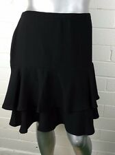 Women's LAUREN~RALPH LAUREN~SKIRT Size 14W  VERSATILE OCCASION Flare Black NWT