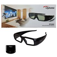 Optoma ZF2300 Wireless Active 3D Shutter Glasses Starter Kit with Emitter