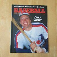 MONTREAL EXPOS 1981 magazine vol 13 no 1 GARY CARTER cover Rodney Scott center