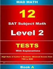 Mad Math: L-2 Tests 01-12 Book A by John Su (2015, Paperback)