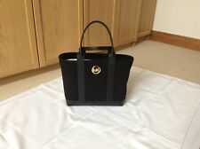 Michael Kors Fulton Canvas medium tote Black