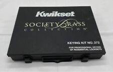 Kwikset Society Brass Partskeying Kit Number 272
