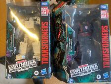Transformers Earthrise War For Cybertron Runabout & Runamuck in box