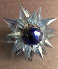 1930's Matchless Double Star Blue Points Cobalt Gem C6 Christmas
