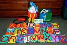 Rare Huggables Inflatable The Letter People Complete Alphabet Set in Box Abrams