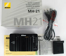 Nikon MH-21 chargeur de batterie EN-EL4a/EL4
