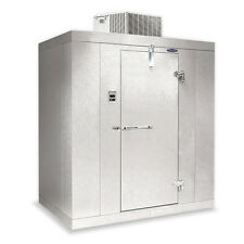 "Norlake Nor-Lake Walk In Freezer 6'x 6'x 6'7"" H Klf66-C Self-Contained -10F"