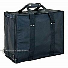 Premium Jewelry Travel Carrying Display Case With 12 Black Trays Amp 12 Red Pads