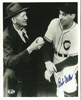 Bob Feller Signed 8x10 Photo Sop Cert Jsa Autograph Authentic