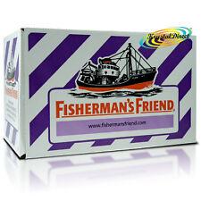 24x Fisherman's Friend Sugar Free Blackcurrant Menthol Lozenges Sweeteners 25g