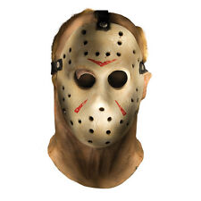 Friday the 13th Jason Voorhees Full Overhead Deluxe Adlut Costume Mask 68238