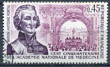 FRANCE TIMBRE OBL N° 1699 BARON ANTOINE PORTAL ACADEMIE NATIONALE DE MEDECINE