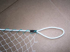 """50' x 15'  GENERAL SPORTS NETTING WITH TOP & BOTTOM ROPE BORDER 1"""" - #7"""
