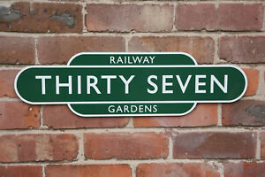 BRITISH RAILWAY TOTEM SIGN REPLICA 23 INCH ANY COLOUR