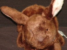 Lifelike Russ Yomiko Classics Brown Dutch Bunny Plush Stuffed Animal Soft Toy