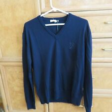 Men's Gianni Versace Collection V-neck sweater size  new NWT $285
