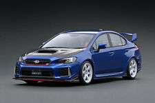 ignition model IG1666 1:18 SUBARU WRX (CBA-VAB) STI Blue