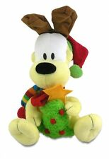 "Cuddle Barn Plush Christmas Odie Plays ""Santa Claus is Coming to Town"" ZCB2923"