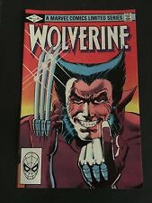 WOLVERINE #1 LIMITED SERIES 9.8 - 9.9 NM-MINT+ WHITE PAGES IST SOLO WOLVERINE