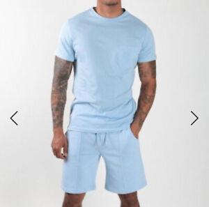 New Mens Rose London Blue Pocket T-shirt Size M £19.99 Or Best OfferRRP £29.99