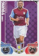 022 LUKE YOUNG # ENGLAND ASTON VILLA TOTTENHAM CARD PREMIER LEAGUE 2011 TOPPS