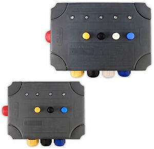 Kockney Koi Yamitsu Switch Box Pond 3-Way & 4-Way and Waterproof Cable Joiner