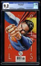 Final Crisis #7 CGC NM- 9.2 White Pages 1st Calvin Ellis Black Superman!