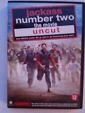JACKASS THE MOVIE NUMBER TWO DVD JOHNNY KNOXVILLE STEVE-O NIEUW
