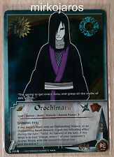 NARUTO CCG LINEAGE OF THE LEGENDS SUPER RARE LOLN-353 OROCHIMARU 1ST EDITION