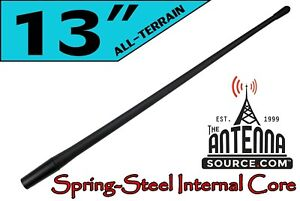 "1985-2021 GMC Sierra 3500 - 13"" ALL TERRAIN SHORT Flexible Rubber AM/FM Antenna"