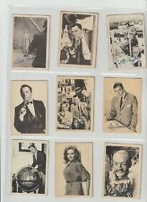 Man From Uncle Full set of 55 cards A&BC Gum